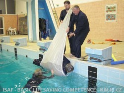 ISAF – záchrana a přežití na moři