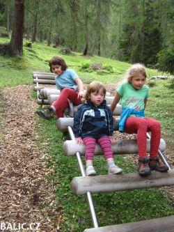 Vysokohorská turistika Rakousko Family 2013